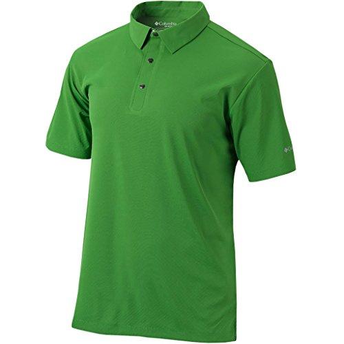 Columbia Golf Omni Wick: Omni Snap Knopfleiste Polo Medium Clean Green