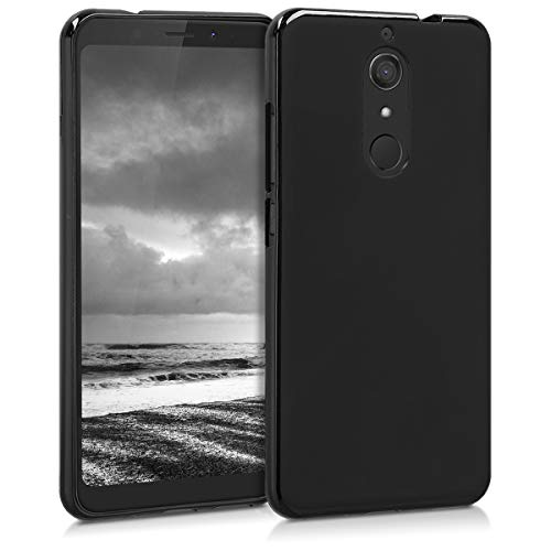 kwmobile Wiko View XL Hülle - Handyhülle für Wiko View XL - Handy Case in Schwarz matt