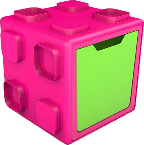 Chill afish Caja: connectable Toy Storage and Play Sistema, Pink/lime by Chill afish