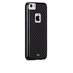 Case-Mate CM029353 Barely There Carbon Fiber Case for Apple iPhone 5c (Black)
