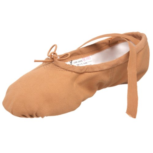 Sansha Pro 1 Canvas Ballet Slipper,Flesh,5 M (3 M US Women's)
