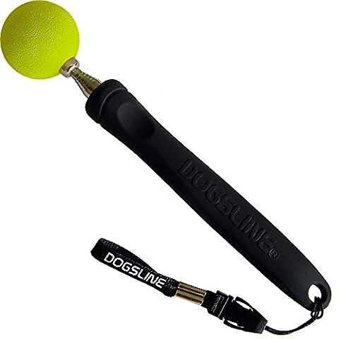 Dogsline Target Stick pour dressage et entraînement , en acier inoxydable , 17 à 73cm colori noir , DL11TS