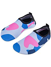 1bc0e7dffcb94 Kids Beach Shoes Swim Water Shoes Toddler Shoes Boys Girls Barefoot Aqua  Socks for Children Pool