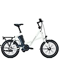E-Bike Kalkhoff Sahel Compact i8R 17.0 Ah 20' 8G Rücktritt in white/dblack Rh 46