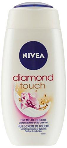 NIVEA Creme-Duschgel, 250 ml Flasche, Care & Diamond