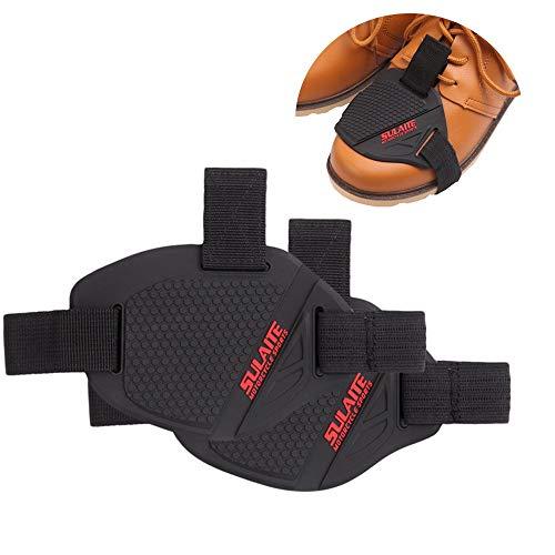 Sixcup® Motorrad Shoe Cover,Motorcycle Gear Shifter Shoe Boots Protective Gear Motorradüberschuh Motorrad Schaltgummi Schutzausrüstung (A)