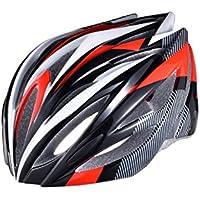 EP-Helmet Casco De La Bici De Montaña, 21 Respiraderos, Código, con El Ajustador,Red