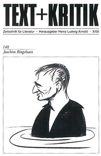 Joachim Ringelnatz (TEXT+KRITIK 148)