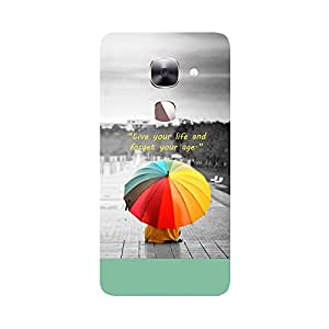Phone Candy Designer Back Cover with direct 3D sublimation printing for LeTV Max 2