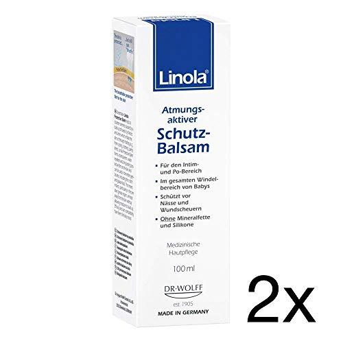 Linola Schutz-Balsam, 2x100ml Sparset inklusive einer Handcreme von vitenda.de