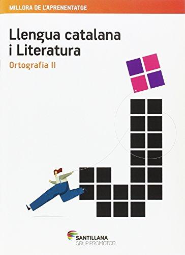 QUADERN LLENGUA CATALANA I LITERATURA ORTOGRAFIA II ESO - 9788490476734