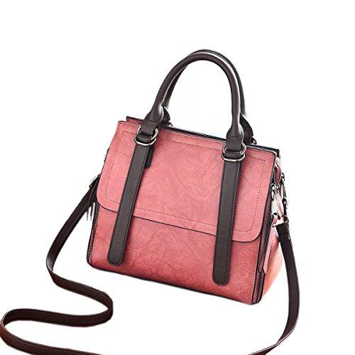 Sacchetti Di Spalla In Pelle Borsa Donna Per Donne Borse Messenger Messenger Moda Borse Grandi In Tessuto Pink