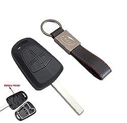 Schlüssel Gehäuse Fernbedienung für Opel Autoschlüssel Funkschlüssel 2 Tasten für Chevrolet Vauxhall Astra H J Insignia G Vectra C Mokka Zafira