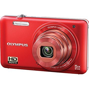 Olympus VG-160 Point & Shoot Camera (Red)