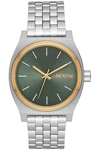 Nixon Time Teller Montre Femme Analogique Quartz avec Bracelet Acier Inoxydable A11302877
