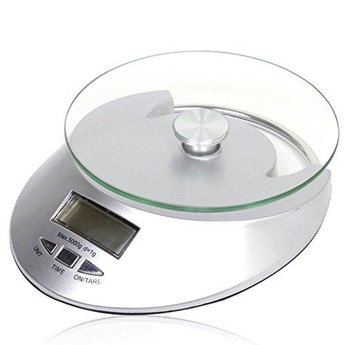 ZCH Präzise Elektronische Küchenwaage Zutaten Waage Medizin Waage Glastisch Waage 5 Kg Elektronische Waage