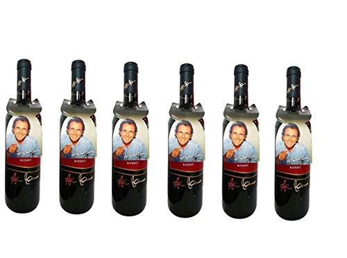 6 Bottiglie Tenute al bano carrisi negroamaro Rosso salento igp 6 x 0,75