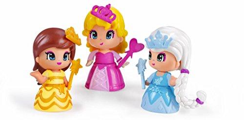 Pinypon - 700014094 - Paquet de 3 Figurines de Princesses (Famosa)
