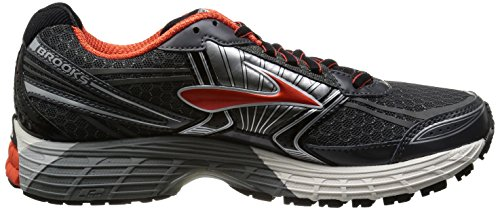 Brooks Adrenaline GST 14 Men Herren Laufschuhe Mehrfarbig (Black/Anthracite/Orange)