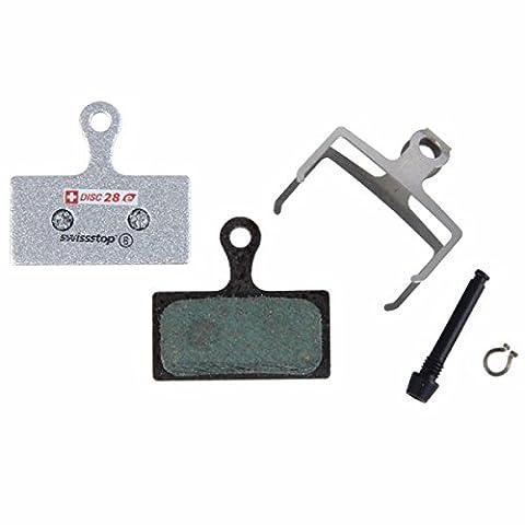 SwissStop Disk Brake E-Bike Pads » Shimano XTR M985, XT M785, SLX M675, Deore M615, FSA (disc28
