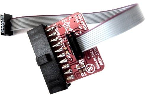 """Preisvergleich Produktbild ARM-JTAG-20-10 Buchsen und Adapter JTAG 20 pin 0.1"""" to 10 pin 0.05"""""""