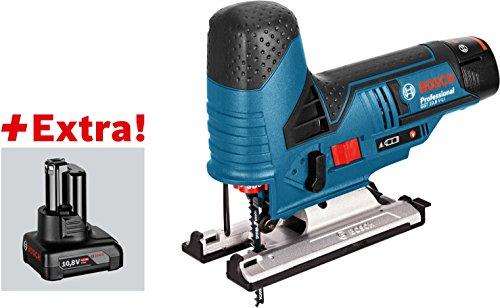 Preisvergleich Produktbild Bosch Power Tools Akku-Stichsäge GST 10,8V-LI 2x2,5Ah 10,8V-LI 2x2,5Ah LBO Stichsäge (Akku) 3165140897785