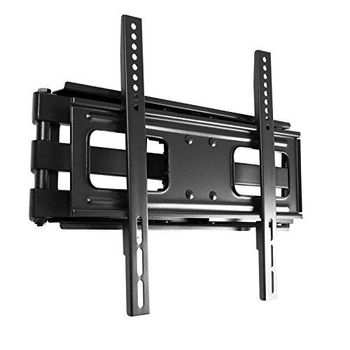 SAVONGA Curved TV Wandhalterung schwenkbar neigbar doppelarm beweglich für Fernseher 32 40 42 49 50 55 Zoll VESA 100x100 200x100 200x200 300x300 400x200 400x400 hält bis max 50kg robuste Design 111N