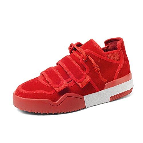 colore Casuali Rosso Donna Donne Taglia Asc Nero Primavera Spessi Inferiori Sneakers 39 0t6wxqF