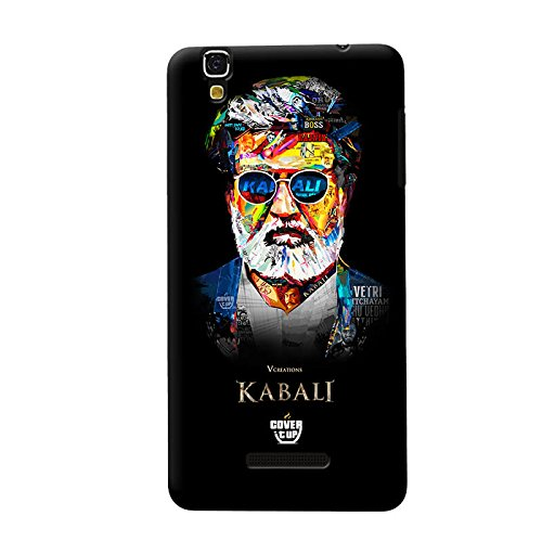 V Creations Kabali Exclusive Mobile Case for Yu Yureka