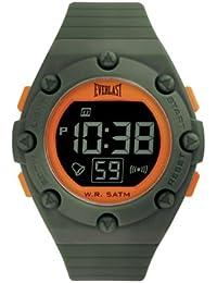 Everlast EV-506-007 - Reloj digital unisex, correa de poliuretano color verde