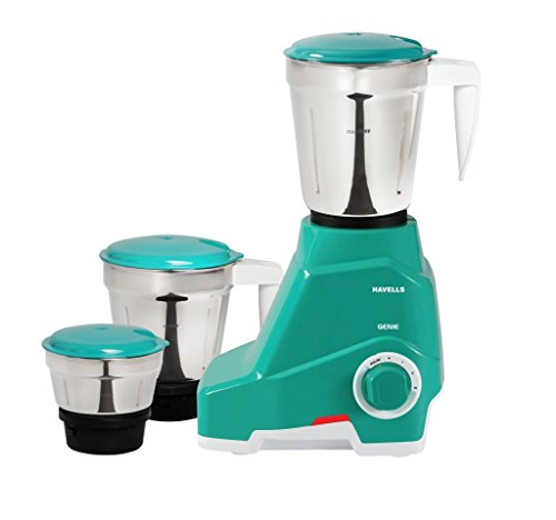 Havells Genie 500-Watt Juicer Mixer Grinder (Green)