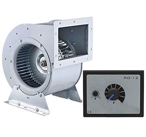 2000m3/h Industriel Radial Centrifuge Ventilateur avec variateur de vitesse 500Watt, Ventilacion Ventilateurs