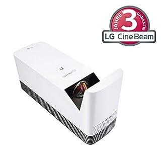 LG Beamer HF85JS bis 304,8 cm (120 Zoll) CineBeam Laser Full HD Allegro Projektor (1500 Lumen, smarte Funktionen, Laser 20000), weiß