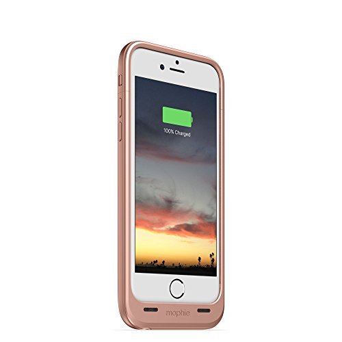Mophie Juice Pack Case batterie rechargeable externe (2,600mAh) pour Apple iPhone blanc 6 Plus Rose Or