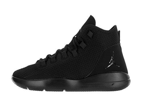 Nike  Jordan Reveal, espadrilles de basket-ball homme Noir (Black / Black-Black-Infrarouge 23)