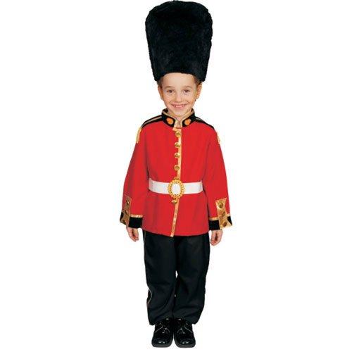 Dress up America Kostümset Königliche Garde in Deluxe-Ausführung - Größe XL 16-18 - Spielzeug Königreich Prinz Kostüm