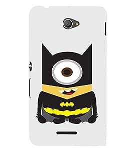 EPICCASE Bat Minion Mobile Back Case Cover For Sony Xperia E4 (Designer Case)
