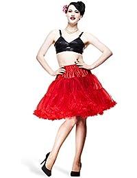 Hell Bunny - enaguas Swing - accesorio para vestidos rockabilly - rojas
