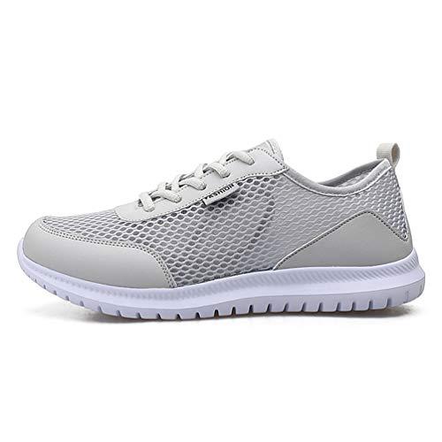 Männer Turnschuhe Sommersport Laufen Atmungsaktive Mesh Walking Outdoor Shoes