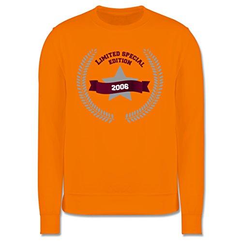 Geburtstag - 2006 Limited Special Edition - Herren Premium Pullover Orange