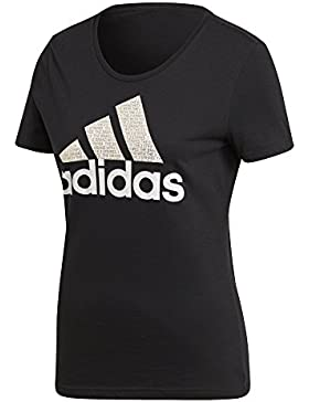 adidas Foil Text Bos - Camiseta Mujer