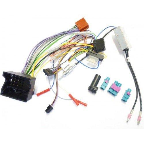 Dietz 66182 Kabelsatz für CAN 4.+ 5. Generation for AUDI, OPEL, SEAT, SKODA, VW Single+Doppel-FAKRA