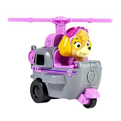 Paw Patrol - Paw Patrol 1187483 Skye y helicóptero pequeño rosa - Medidas 6.4x9.5x7.6 cm por Paw Patrol