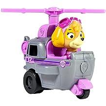 Paw Patrol - Paw Patrol 1187483 Skye y helicóptero pequeño rosa - Medidas 6.4x9.5x7.6 cm