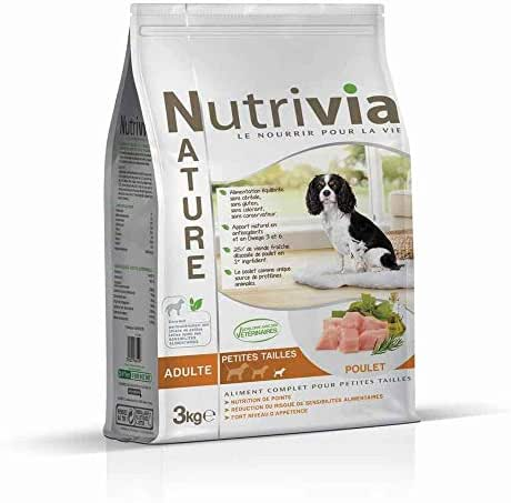Nutrivia Nature : Nutrivia Nature Aliments Complets Pour Chien (petite Race): Poulet,3kg
