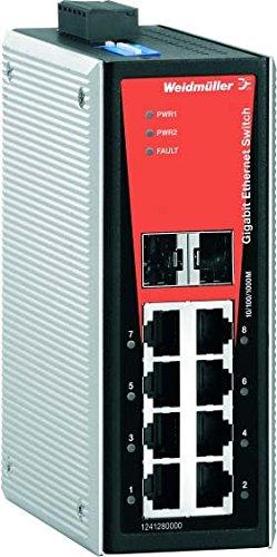 WEIDMULLER 1241280000 - SWITCH GESTIONADO IE-SW-VL08-6GT-2GS