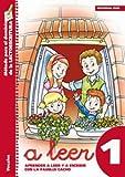 A leer 1. Aprender a leer y escribir con la familia Cacho.: Vocales (Rincón del lenguaje)