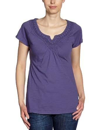 Eddie Bauer Damen T-Shirt, 22202688, Gr. 34/36 (S), Violett (Lila)