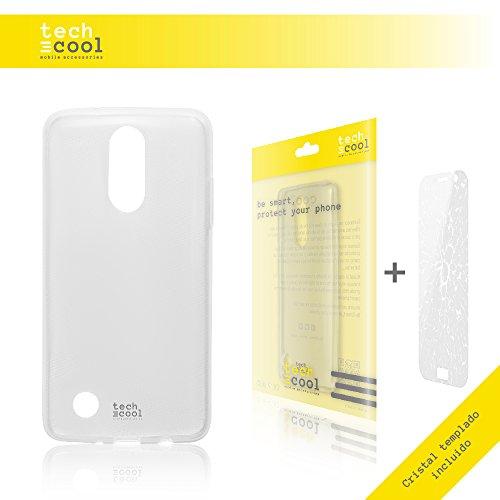 funnytech® Set Custodia Trasparente per Meizu M5S + vetro temprato [Gel Silicone Flessibile Alta Qualità] [Ultra Slim 1,5mm-gran Resistenza] [vetro temperato 0,3mm, HD, 9H, resistente a urti]