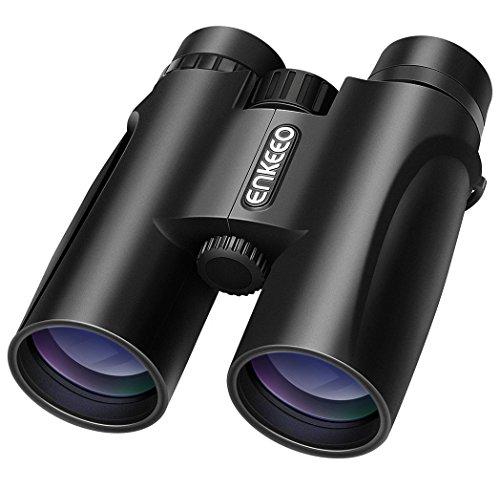 fernglas 10x42 ENKEEO 10X42 Fernglas Kompakt Binoculars für Vogel-/ Tier-Betrachtung, Kampieren, Sport-Ereignisse, Konzerte, Jagd, Überwachung